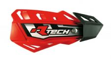 Racetech Red FLX Standard Handguards With Mount Kit Motocross Enduro